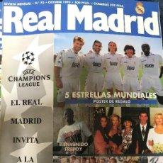 Coleccionismo deportivo: ANTIGUA REVISTA REAL MADRID NUMERO 72 1995. Lote 106686612