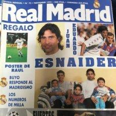 Coleccionismo deportivo: ANTIGUA REVISTA REAL MADRID NUMERO 73 1995. Lote 106686751