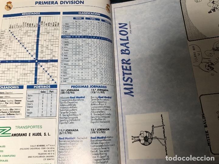 Coleccionismo deportivo: ANTIGUA REVISTA REAL MADRID NUMERO 73 1995 - Foto 4 - 106686751