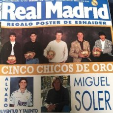 Coleccionismo deportivo: ANTIGUA REVISTA REAL MADRID NUMERO 74 1995. Lote 106686880