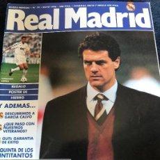 Coleccionismo deportivo: ANTIGUA REVISTA REAL MADRID NUMERO 79 1996. Lote 92012595