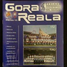 Coleccionismo deportivo: REVISTA GORA REALA Nº16 - REAL SOCIEDAD - CELTA. Lote 92043830