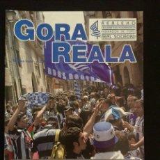 Coleccionismo deportivo: REVISTA GORA REALA Nº 0 REAL SOCIEDAD - DEPORTIVO ALAVES. Lote 92828039