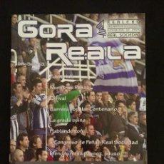 Coleccionismo deportivo: REVISTA GORA REALA Nº6 REAL SOCIEDAD - ELCHE. Lote 92044290