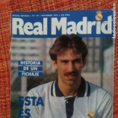 Coleccionismo deportivo: REAL MADRID Nº40-1992. Lote 92143200