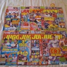Coleccionismo deportivo: LOTE 8 REVISTAS EL JUGÓN (VER RELACIÓN). Lote 131956171