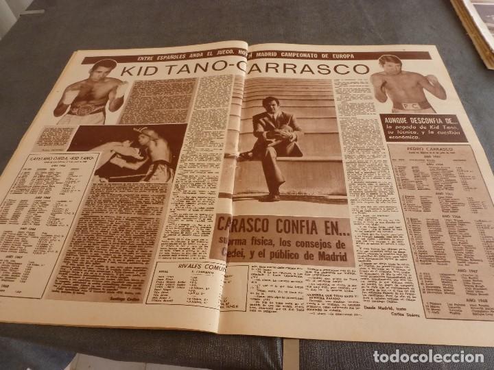 Coleccionismo deportivo: DICEN (10-5-68)COPA EUROPA BENFICA 2 JUVENTUS 0,PEDRO CARRASCO(BOXEO) - Foto 3 - 92458890