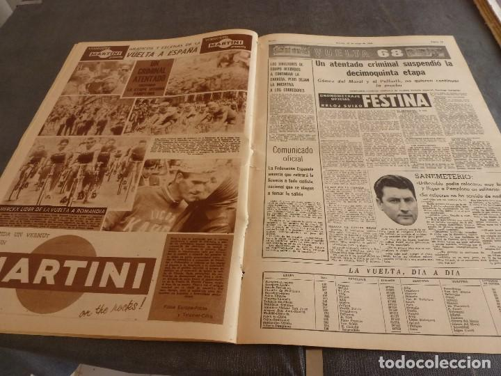 Coleccionismo deportivo: DICEN (10-5-68)COPA EUROPA BENFICA 2 JUVENTUS 0,PEDRO CARRASCO(BOXEO) - Foto 4 - 92458890
