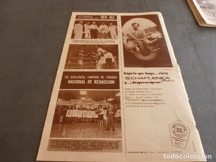 Coleccionismo deportivo: DICEN (10-5-68)COPA EUROPA BENFICA 2 JUVENTUS 0,PEDRO CARRASCO(BOXEO) - Foto 6 - 92458890
