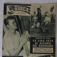 Coleccionismo deportivo: REVISTA BARÇA. Nº 67 MARZO 1957. CELTA DE VIGO 0 BARCELONA 2. Lote 92748035
