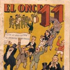 Coleccionismo deportivo: ALMANAQUE EL ONCE 1951. Lote 92800190