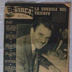 Coleccionismo deportivo: REVISTA BARÇA. Nº 77 JUNIO 1957. R. SOCIEDAD 1 BARCELONA 5. Lote 92764775