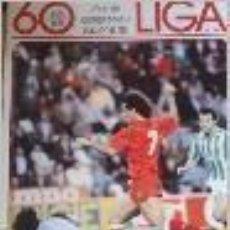 Coleccionismo deportivo: 60 AÑOS DE CAMPEONATO NACIONAL DE LIGA-FASCICULO 17. POSTER OVIEDO . Lote 92925130