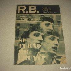 Collectionnisme sportif: R.B. REVISTA BARCELONISTA N° 621 , MARZO 1977 . SU TURNO MR. CRUYFF .. Lote 92938870