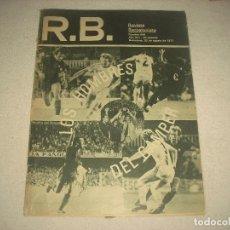 Coleccionismo deportivo: R.B. REVISTA BARCELONISTA N° 648 , AGOSTO 1977 . LOS HOMBRES DEL GAMPER .. Lote 92940120
