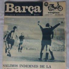 Coleccionismo deportivo: REVISTA BARÇA. Nº 958 MARZO 1974. ATH. BILBAO 0 BARCELONA 0. Lote 93208155
