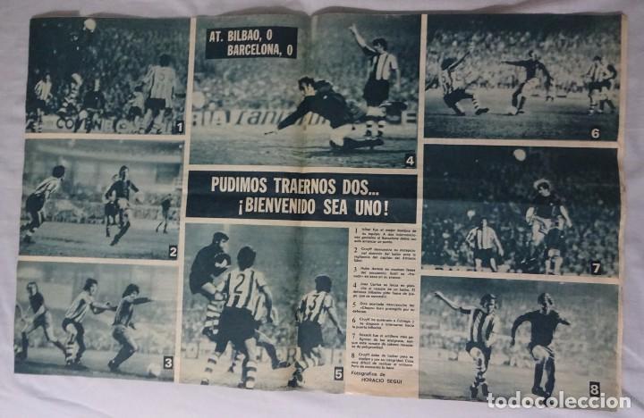 Coleccionismo deportivo: REVISTA BARÇA. Nº 958 MARZO 1974. ATH. BILBAO 0 BARCELONA 0 - Foto 2 - 93208155