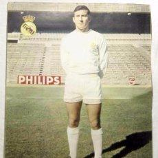 Coleccionismo deportivo: REAL MADRID: PÓSTER DE CALPE. 1970. Lote 93265560
