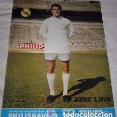 Coleccionismo deportivo: PÓSTER DE JOSÉ LUIS, DEL REAL MADRID. Lote 93265715