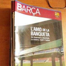 Coleccionismo deportivo: REVISTA OFICIAL BARÇA (24 NUMEROS, EN LAS FOTOS ESTAN TODAS LAS PORTADAS) AÑOS 2008-2012. Lote 93911625