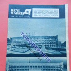 Coleccionismo deportivo: BOLETIN REVISTA OFICIAL REAL MADRID 1964 Nº 167 FELIX RUIZ-LIGA 63/64 PONTEVEDRA-REAL MURCIA. Lote 94155460