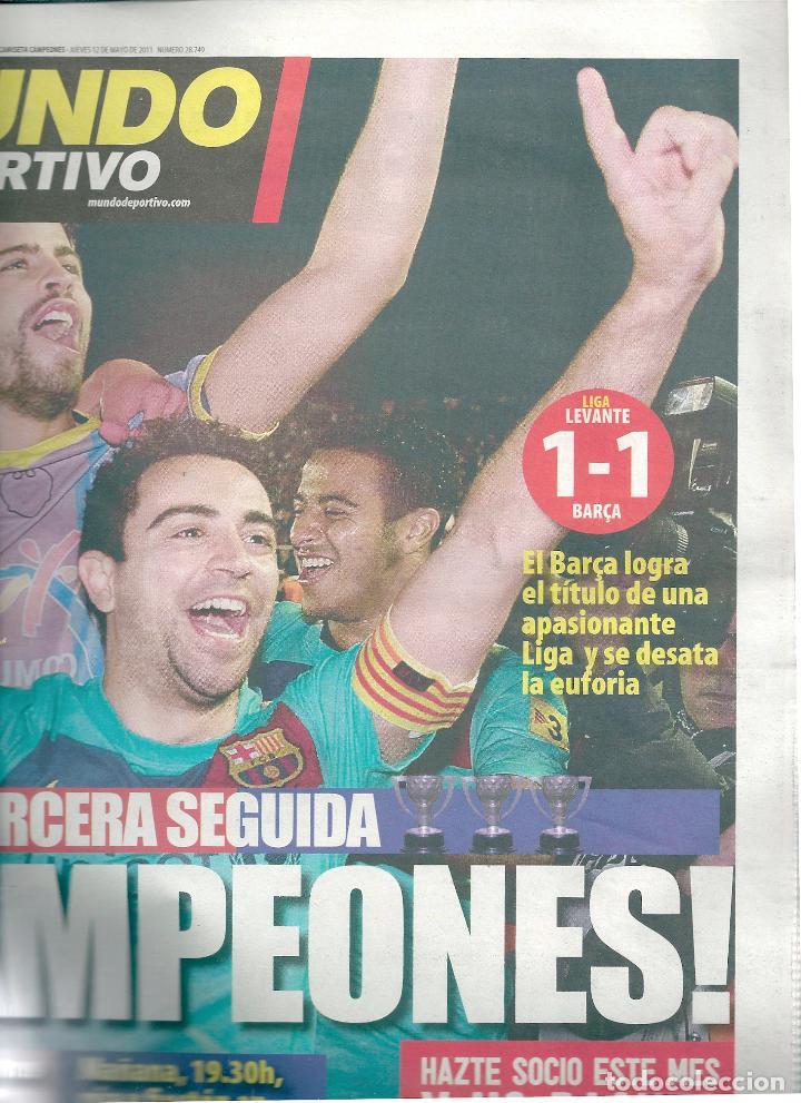BARÇA CAMPEÓN DE LIGA TEMPORADA 2010-11. EL MUNDO DEPORTIVO (Coleccionismo Deportivo - Revistas y Periódicos - otros Fútbol)