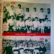 Coleccionismo deportivo: SEMANA N° 1076 4/10/1960 • U.D. SALAMANCA- C.D. TENERIFE • REPORTAJE ESPOSAS DE FUTBOLISTAS. Lote 95490627