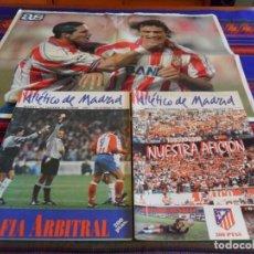 Coleccionismo deportivo: REVISTA ATLÉTICO DE MADRID NºS 4 Y 6 CON PÓSTERS. AÑO 1994. REGALO PÓSTER SIMEONE ESNAIDER DIARIO AS. Lote 95668451