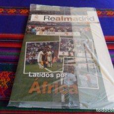 Coleccionismo deportivo: REVISTA FUNDACIÓN REAL MADRID Nº 57. II 2017. CLASSIC MATCH ROMA, LATIDOS POR ÁFRICA. PRECINTADA.. Lote 95669919