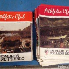 Coleccionismo deportivo: LOTE 57 REVISTAS DIFERENTES FUTBOL ATHLETIC CLUB BILBAO AÑOS 80S DEL 1 AL 60 (MENOS 3). Lote 95691135