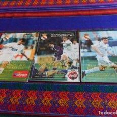 Collezionismo sportivo: PROGRAMA OFICIAL REAL MADRID TEMPORADA 96 97 RAYO VALLECANO, REAL SOCIEDAD, C.D. LOGROÑÉS. BE.. Lote 95827731