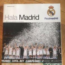 Coleccionismo deportivo: REVISTA HALA MADRID 62 REAL MADRID CAMPEONES COPA DEL REY BALONCESTO 2016 2017 JUANITO. Lote 96179855