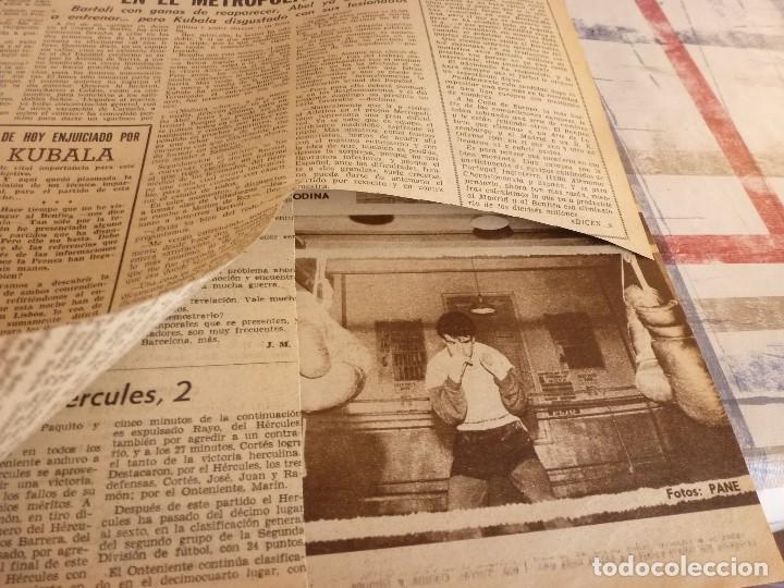 Coleccionismo deportivo: DICEN(24-2-65)PEDRO BARET,ANTONIO TORRES(BOXEO)BALMANYA Y CÉSAR,ESQUI ESPAÑOL,CONDAL. - Foto 3 - 97216155