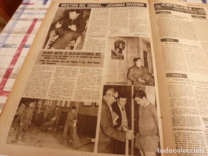 Coleccionismo deportivo: DICEN(24-2-65)PEDRO BARET,ANTONIO TORRES(BOXEO)BALMANYA Y CÉSAR,ESQUI ESPAÑOL,CONDAL. - Foto 6 - 97216155