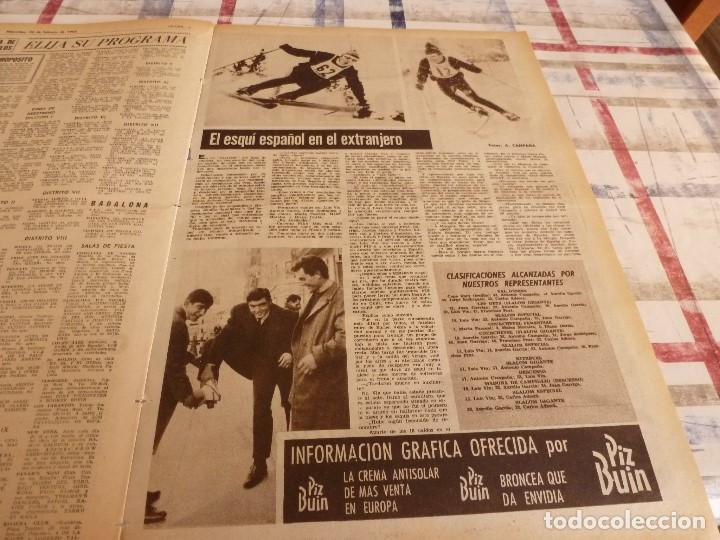 Coleccionismo deportivo: DICEN(24-2-65)PEDRO BARET,ANTONIO TORRES(BOXEO)BALMANYA Y CÉSAR,ESQUI ESPAÑOL,CONDAL. - Foto 7 - 97216155