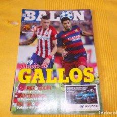 Coleccionismo deportivo: EL BALON REVISTA DE FUTBOL LOTE DE 10 TOMOS FOTOS DE TODOS LOS NUMEROS . Lote 97277291