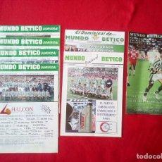 Coleccionismo deportivo: 7 REVISTAS MUNDO BETICO DOMINICAL 1994 REAL BETIS BALOMPIE. Lote 97302807