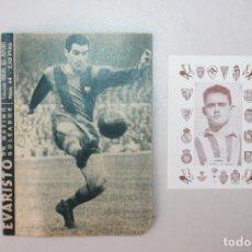 Coleccionismo deportivo: ÍDOLOS DEL DEPORTE, NÚM 44, EVARISTO. Lote 97766723