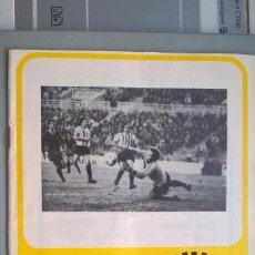 Coleccionismo deportivo: BADAJOZ LEVANTE. REVISTA BOLETÍN DEL LEVANTE U.D. DE VALENCIA. 1978. Lote 98804503
