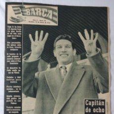 Coleccionismo deportivo: REVISTA BARÇA. Nº 10 FEBRERO 1956. LAS PALMAS 0 BARCELONA 1. Lote 98212303