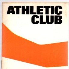 Coleccionismo deportivo: PROGRAMA OFICIAL ATHLETIC CLUB BILBAO - ELCHE C.F. CAMPEONATO LIGA 1ª DIVISION. AÑO 1974. Lote 98438463