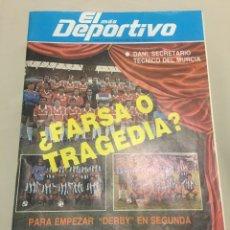 Coleccionismo deportivo: EL MÁS DEPORTIVO. AÑO 1 - NÚM 1. 1984. Lote 98543334