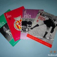 Coleccionismo deportivo: ANTIGUAS REVISTAS BOLETÍN DEL COMITÉ NACIONAL DE ARBITROS *EL ARBITRO* Nº 1-2-3-4 AÑO 1965. Lote 98562555