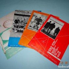 Coleccionismo deportivo: ANTIGUAS REVISTAS BOLETÍN DEL COMITÉ NACIONAL DE ARBITROS *EL ARBITRO* Nº 5-6-7-8 AÑO 1966 COMPLETO. Lote 98563007