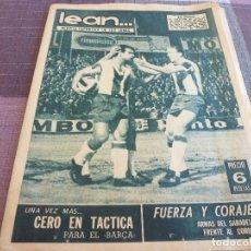 Coleccionismo deportivo: (BD)LEAN(3-10-66)ELCHE 4 BARÇA 3!!!ESPAÑOL 4 HERCULES 1,EUROPA 1 BADALONA 0,CICLISMO. Lote 98643051