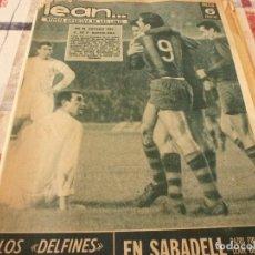 Coleccionismo deportivo: (BD)LEAN(14-11-66)BARÇA 5 SEVILLA 0,SABASELL 0 ELCHE 0!!GRAN PAZOS!!CONSTANCIA INCA 4 MÁLAGA 0.. Lote 98694979