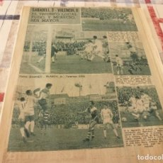 Coleccionismo deportivo: (BD)LEAN(1966)ESPAÑOL 2 ATH.BILBAO 1,IRIBAR,PONTEVEDRA-BARÇA,CONSTANCIA INCA O MESTALLA 2.. Lote 98696999