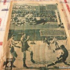 Coleccionismo deportivo: (BD)LEAN(17-4-67)CORUÑA 0 BARÇA 3,CONSTANCIA INCA 1 MALLORCA 1,ESPAÑOL-LAS PALMAS.. Lote 98703059