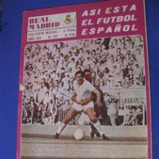 Coleccionismo deportivo: REVISTA REAL MADRID. PUBLICACIÓN MENSUAL. 1973. Nº 277. CON POSTER. . Lote 98794895
