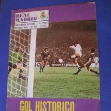 Coleccionismo deportivo: REVISTA REAL MADRID. PUBLICACIÓN MENSUAL. 1975. Nº 307. SIN POSTER. . Lote 98795127